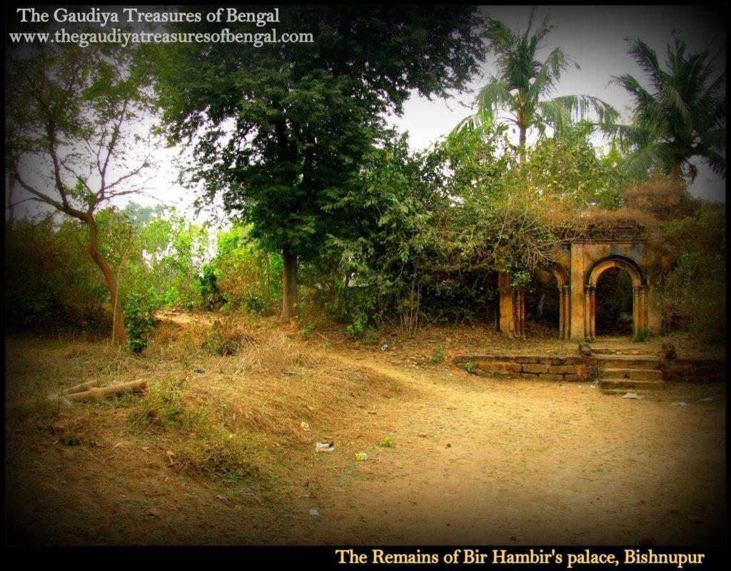 bishnupur palace ruins gtb